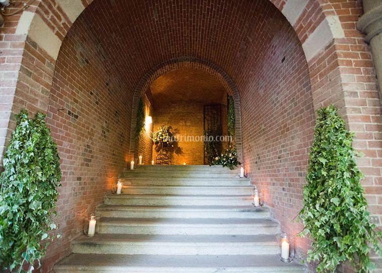 Passaggio giardino / cantine