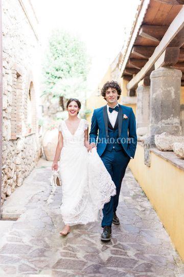 Passeggiata-sposi