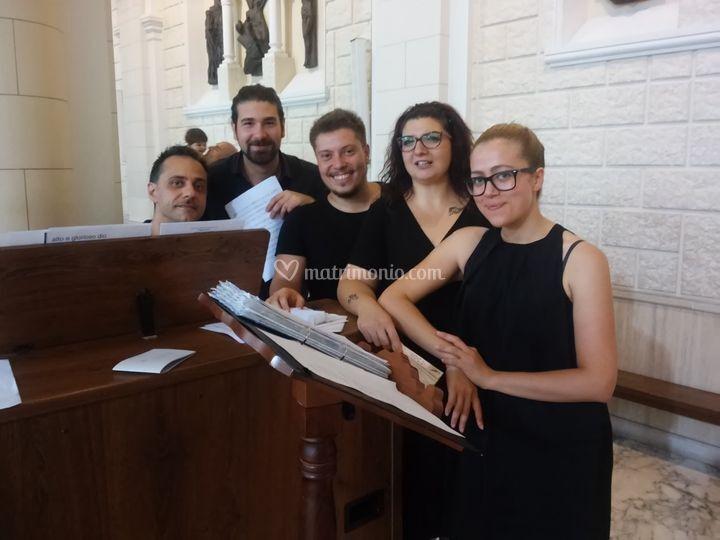 Formazione 4 voci e organo