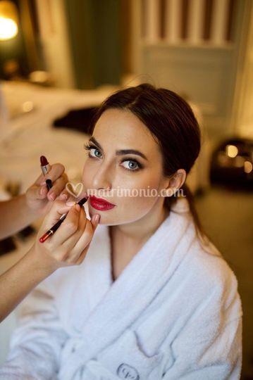 Makeup per giulia valentina