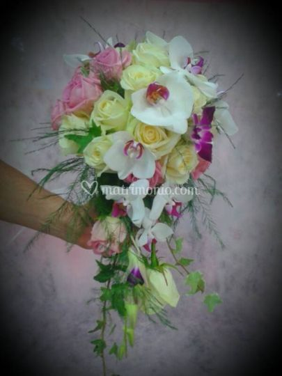 Bouquet a cascata