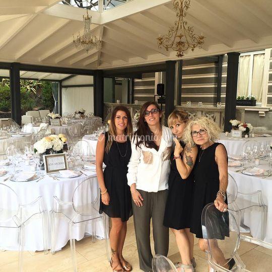 Jlenia & Staff Wedding Class