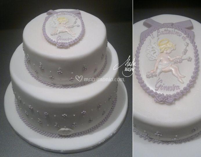 Torta royal icing
