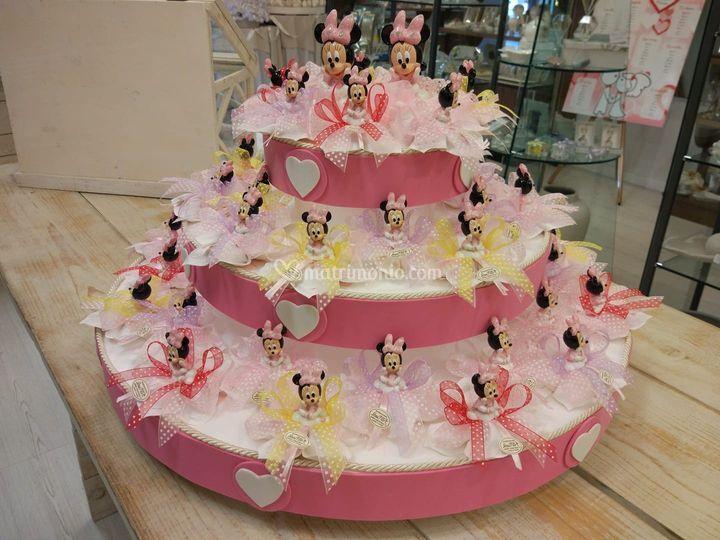 Torta Minnie battesimo