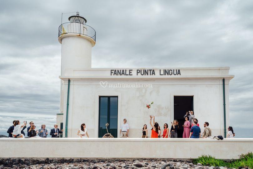 Wedding in Salina island