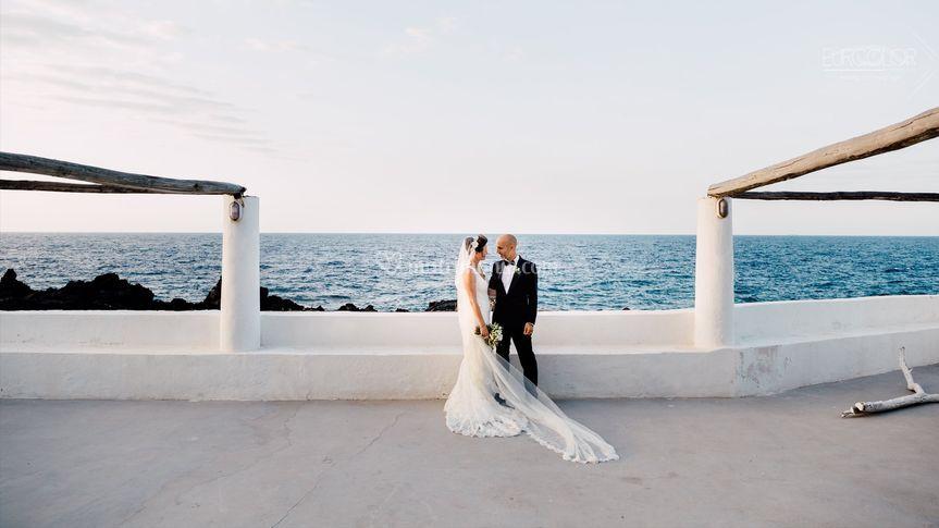 Wedding in Stromboli