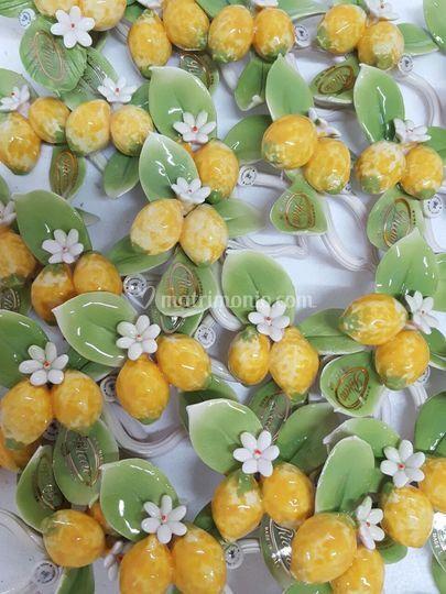 Limoni in ceramica