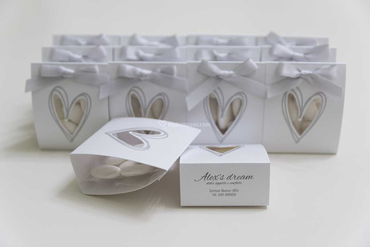 Scatoline Bomboniere Matrimonio.Scatoline Porta Confetti Di Alex S Dream Foto 18