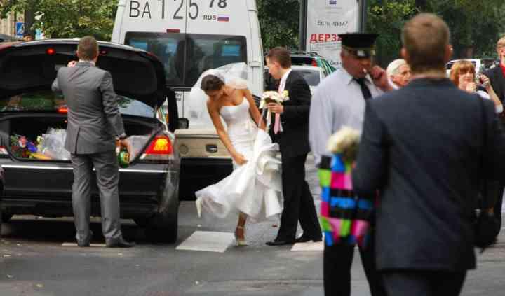 Wedding in San Pietroburgo