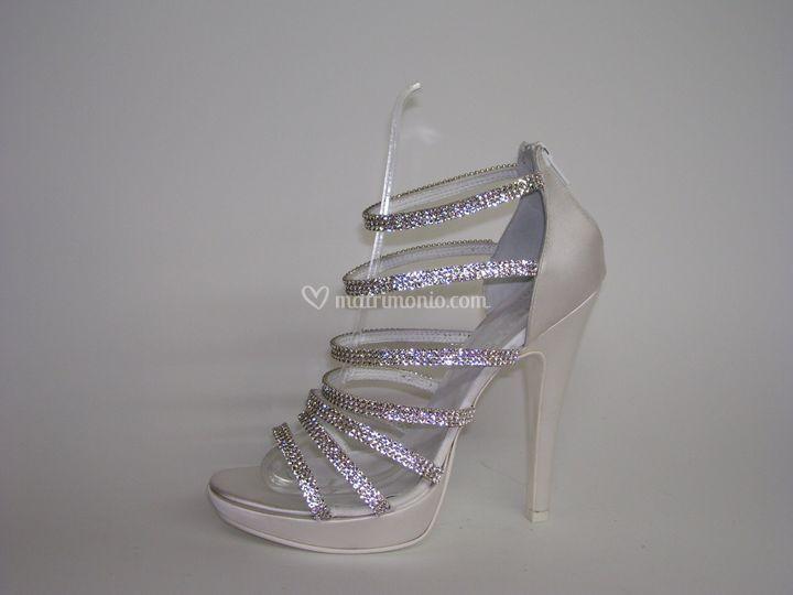 Sandali gioiello tacco 12