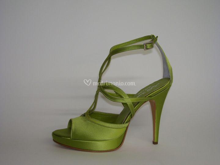 Sandali da sposa colorati