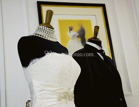 Abito da sposa e sposo