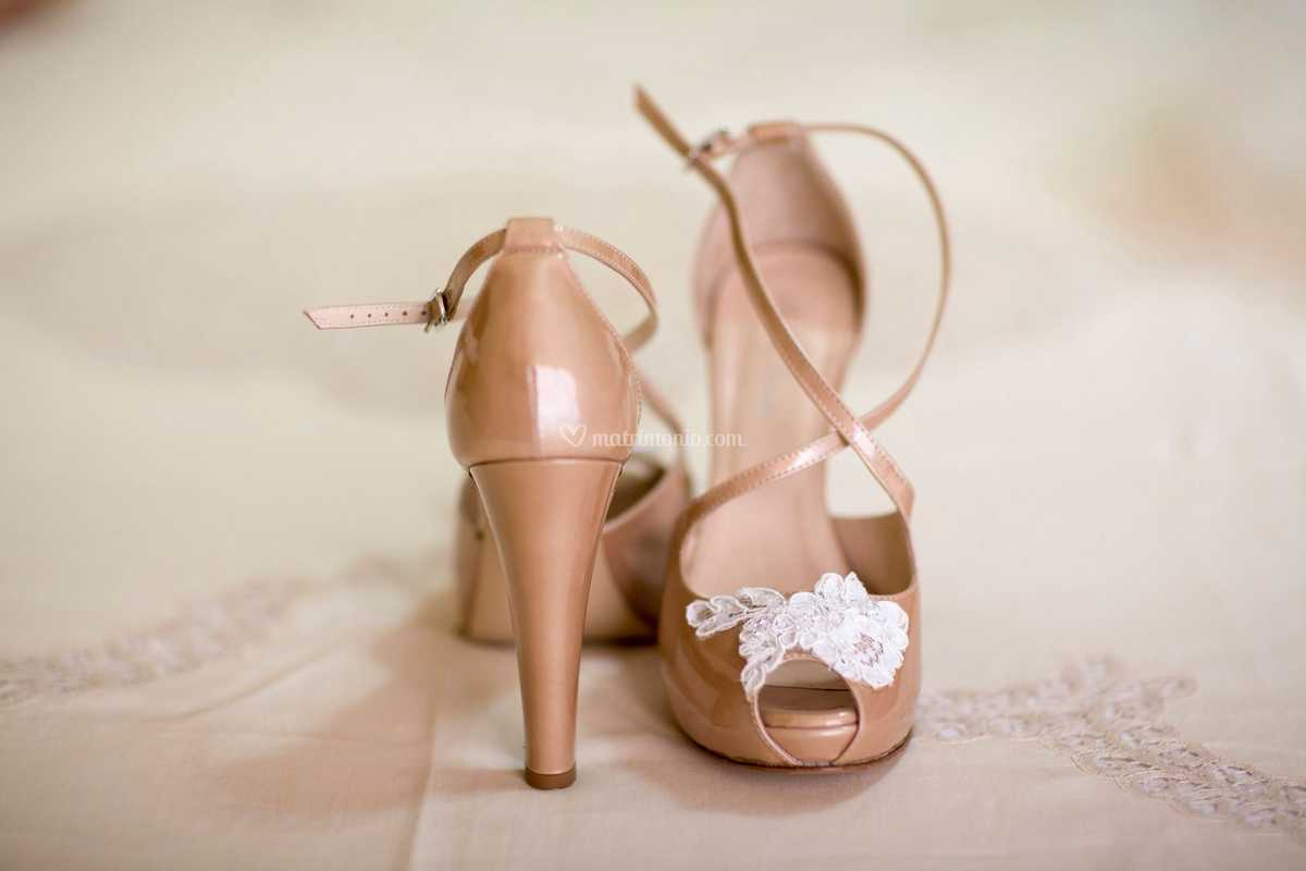 Scarpe Pizzo Sposa.Scarpe Sposa Nude E Pizzo Di Andrea Iommi Foto 39