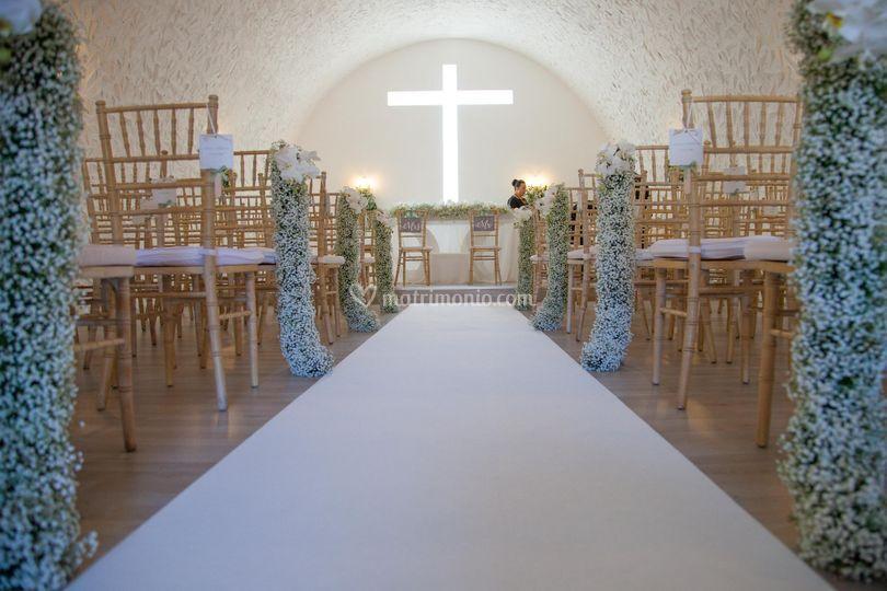 Cerimonia in chiesetta