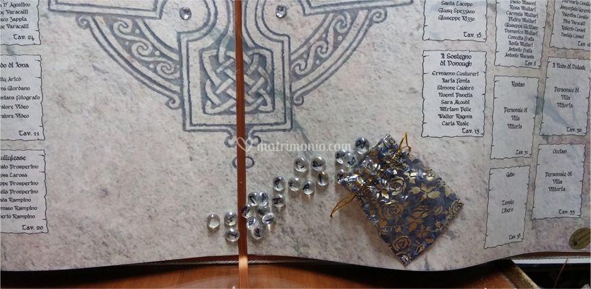Dettaglio tableau celtico