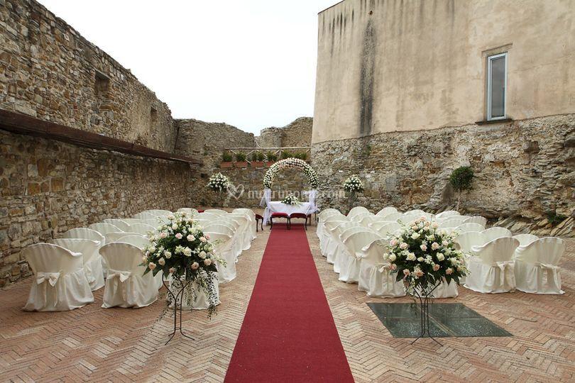 Allestimento Castello