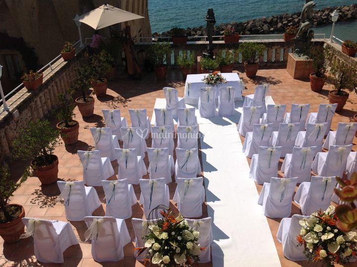Matrimonio su Terrazzo