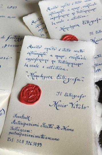 Autenticitèa scritta a mano