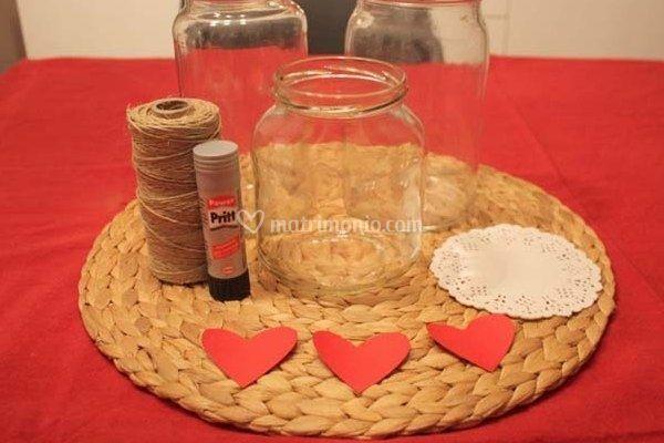 Centrotavola per matrimonio a san valentino - Decorazioni per san valentino fai da te ...