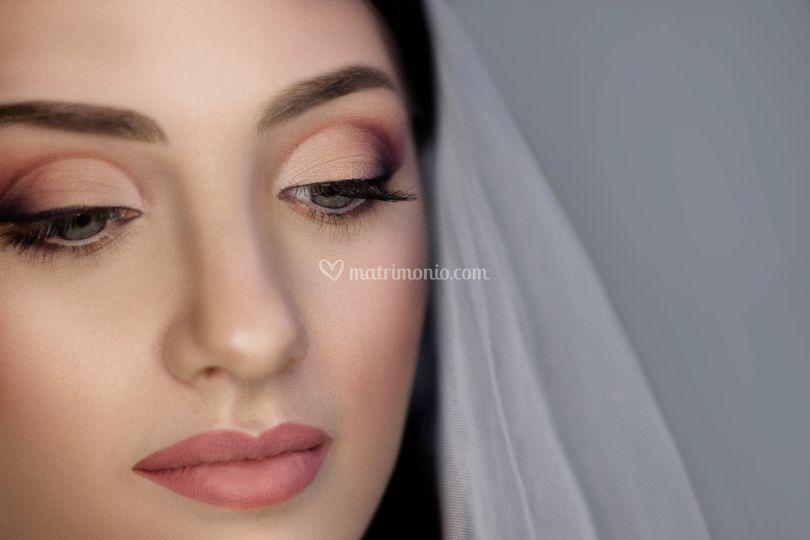 Trucco occhi sposa