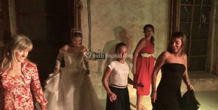 Irene ed i balli con la sposa