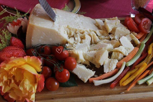 Il grana a buffet, esempio