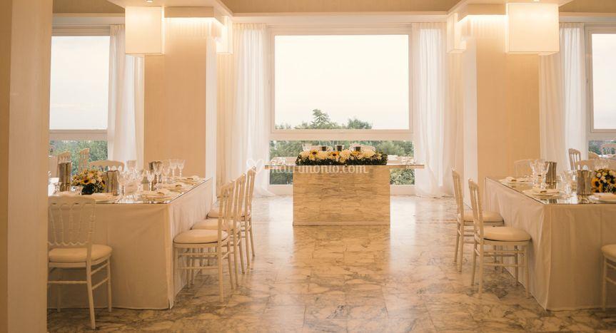 Villa lucrezio for Sala degli sposi