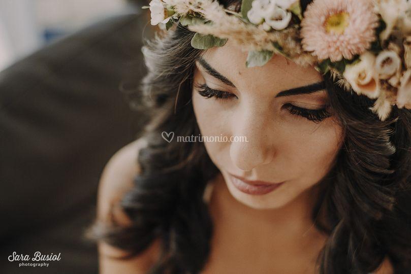 Beach Wedding - boho make-up
