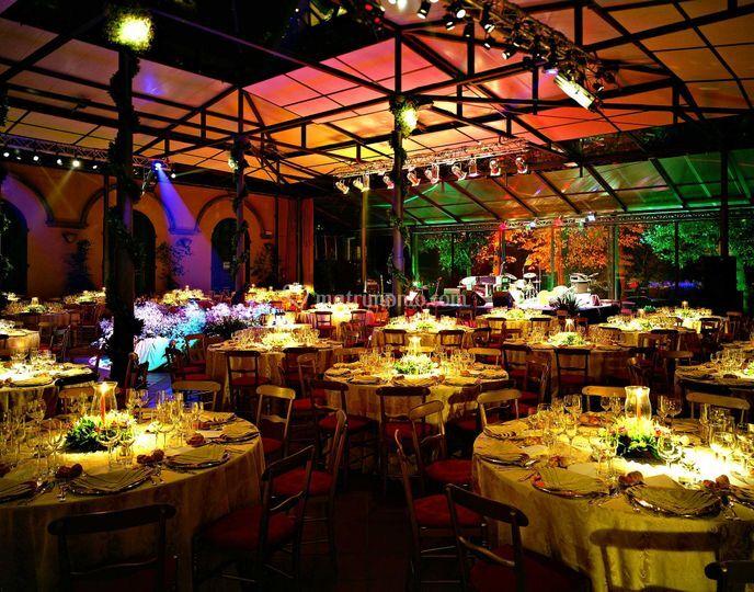 Matrimonio Toscana Inverno : Cena incentive giardino d inverno di villa castelletti foto