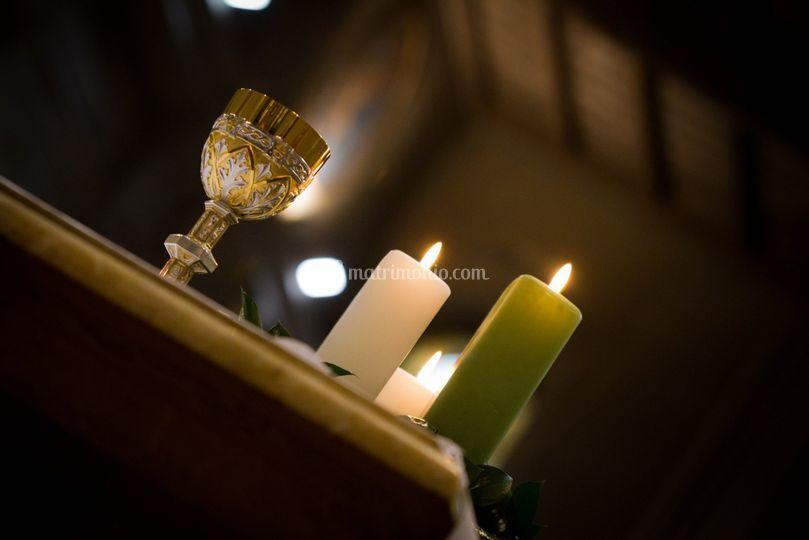 Candele e rituale sacro