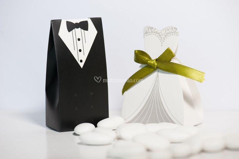 Bomboniere Sposo e Sposa