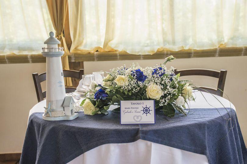 Roxana wedding planner - Tavolo sposa casa ...