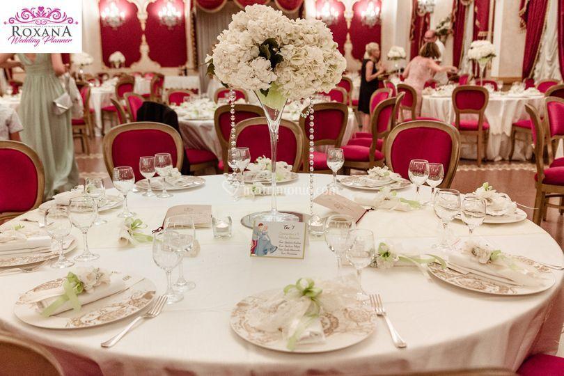 Allestimenti tavoli Matrimonio