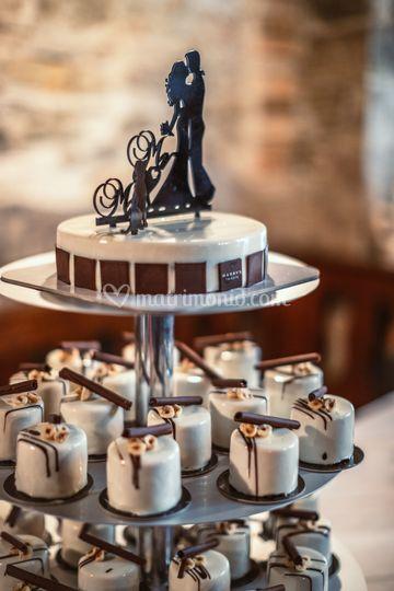 Dettaglio torta monoporzione