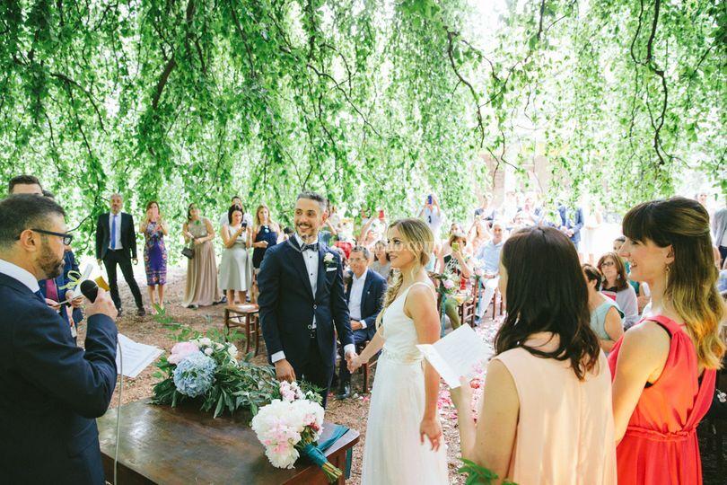 M+g- romantic wedding