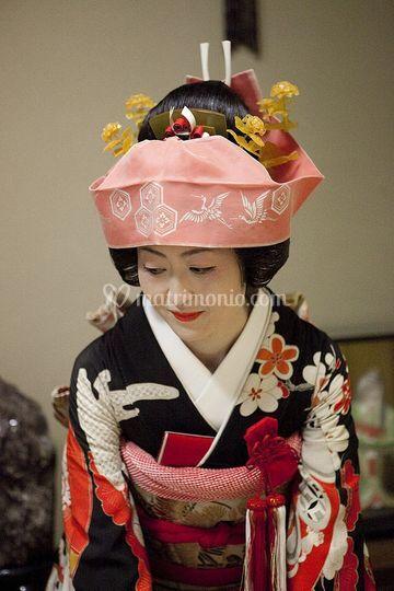 Matrimonio In Giappone : Matrimonio scintoista in giappone