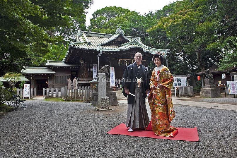Matrimonio Tema Giappone : Matrimonio scintoista in giappone
