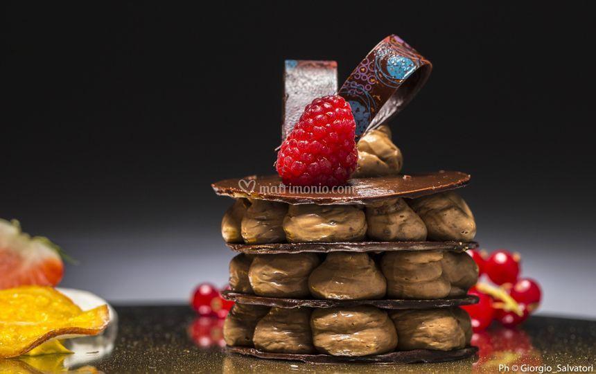 Millefoglie al cioccolato