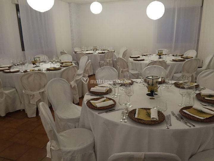 Tavoli cena degustazione