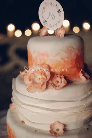 Wedding cake  - cake design di Maggioni Party Service