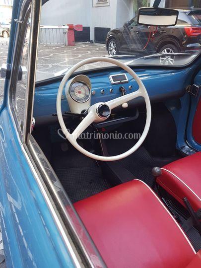 Interni Fiat 500 Giardinetta