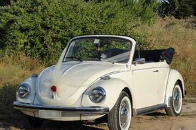 Maggiolino Maggiolone cabrio bianco
