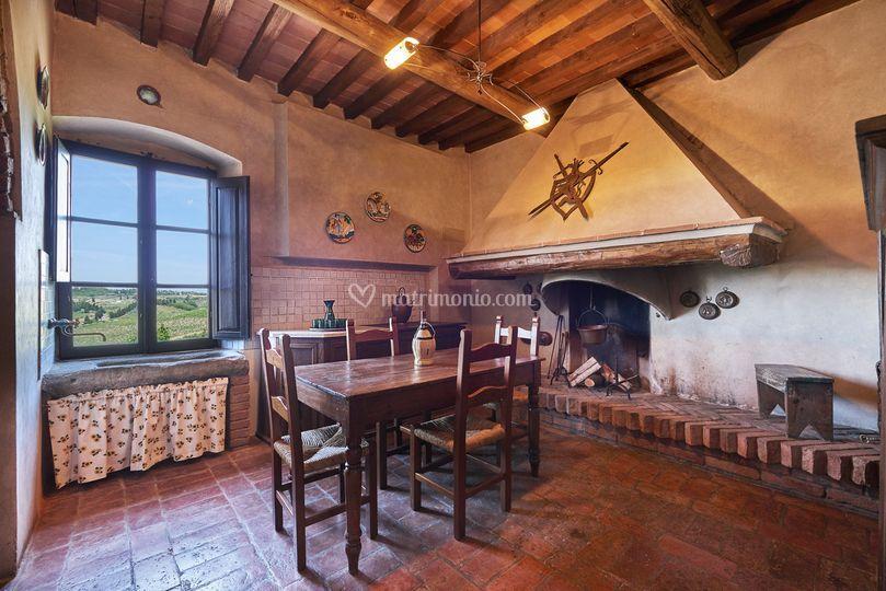 La vecchia cucina di Casale di Valle | Foto 36