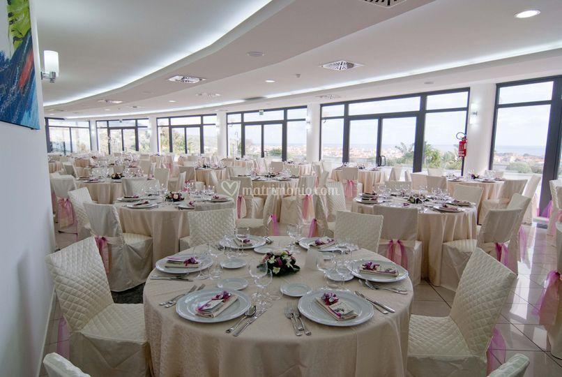 Sala ristorante Mirabeau