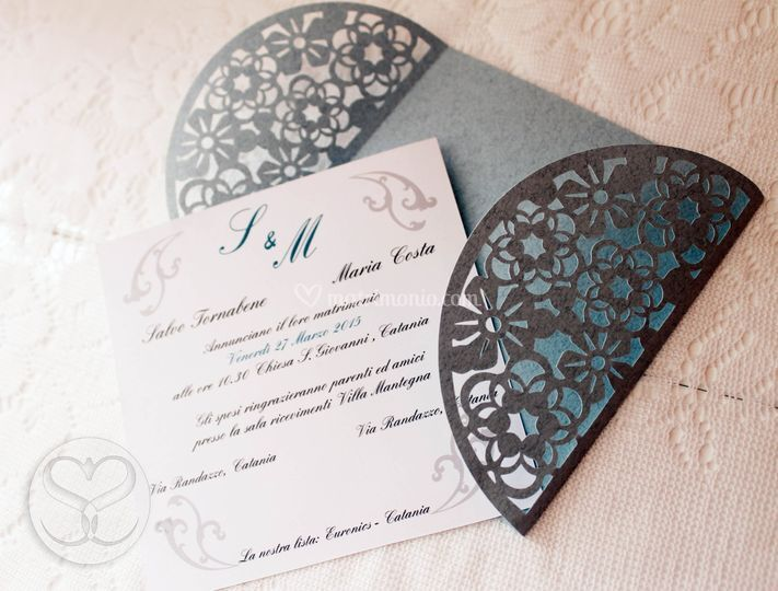 Partecipazioni Matrimonio Catania.Essegraphic Art