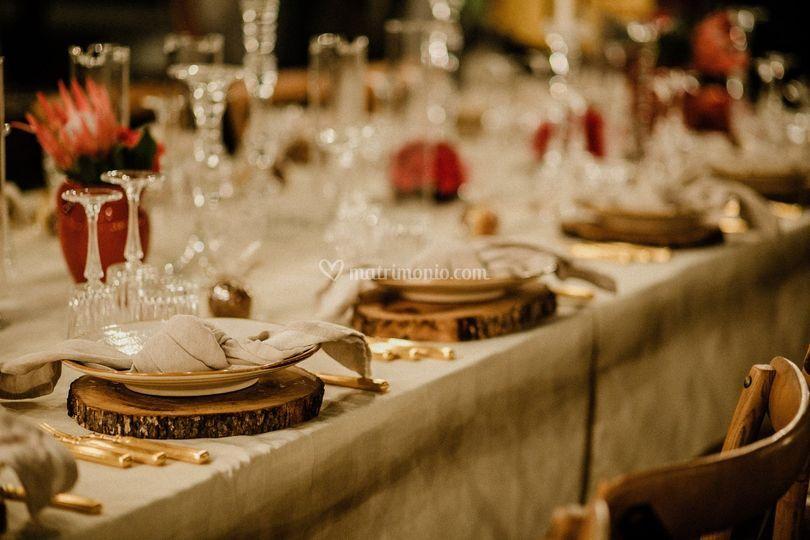 Allestimento tavolo