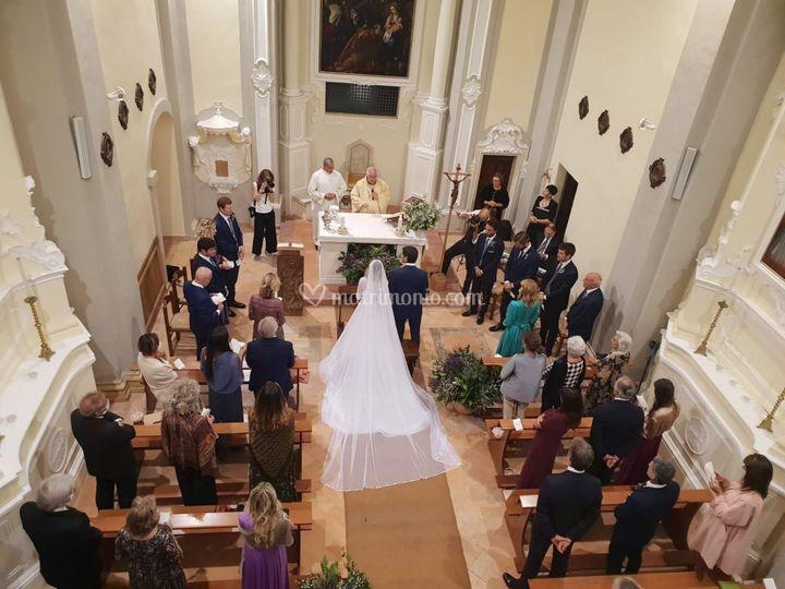 Matrimonio con rito religioso