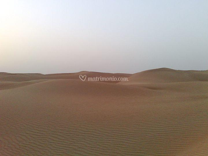 Dubai il deserto