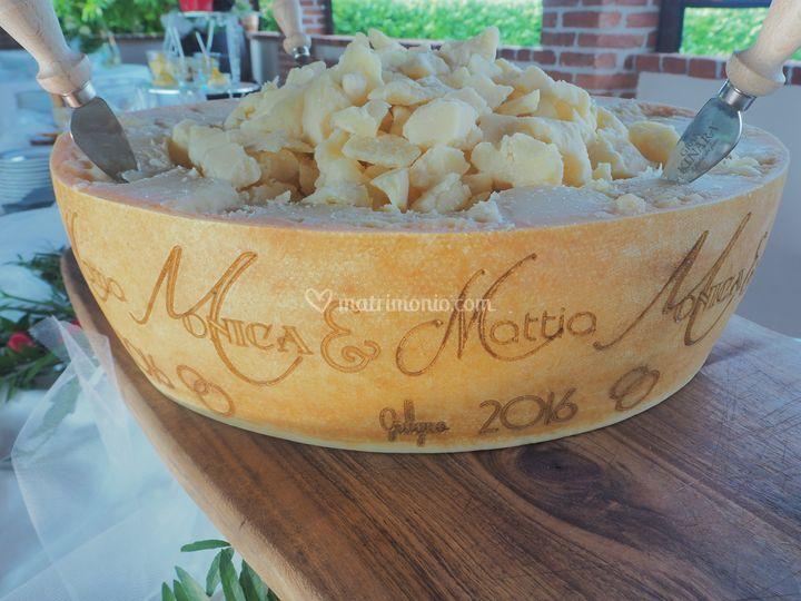 Parmigiano personazlizzato