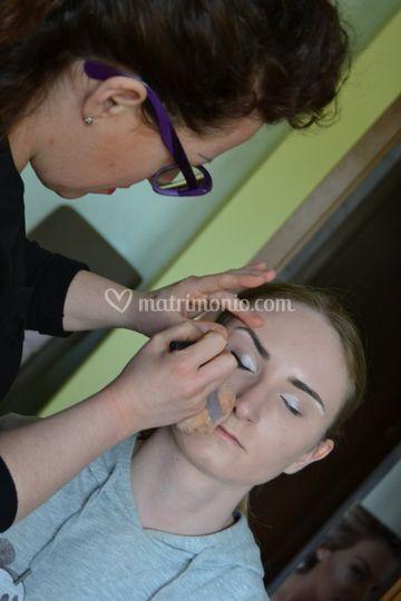 Make up working progress